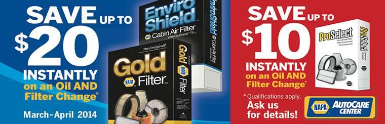 Replacing your filters as part of your normal auto repair and maintenance is a good idea.