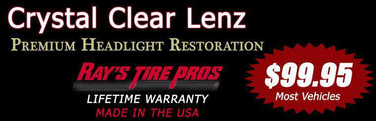 Premium Headlight Restoration - Lifetime Warranty $99.95
