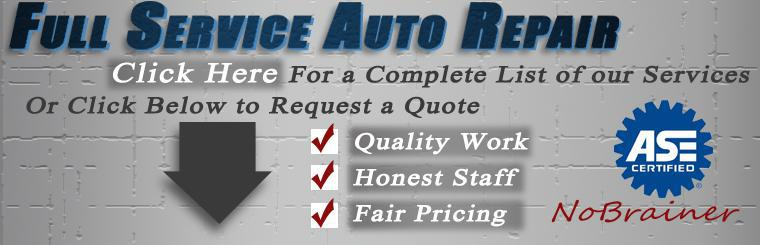 Full Service Auto Repair and Maintenance