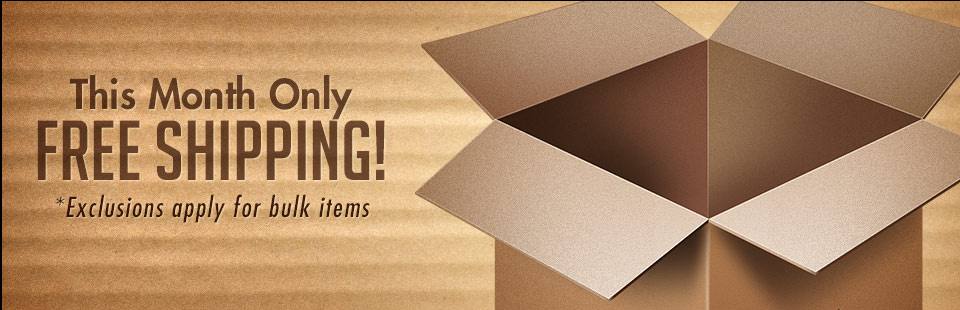 Free Shipping This Month Only: Click here to shop online.