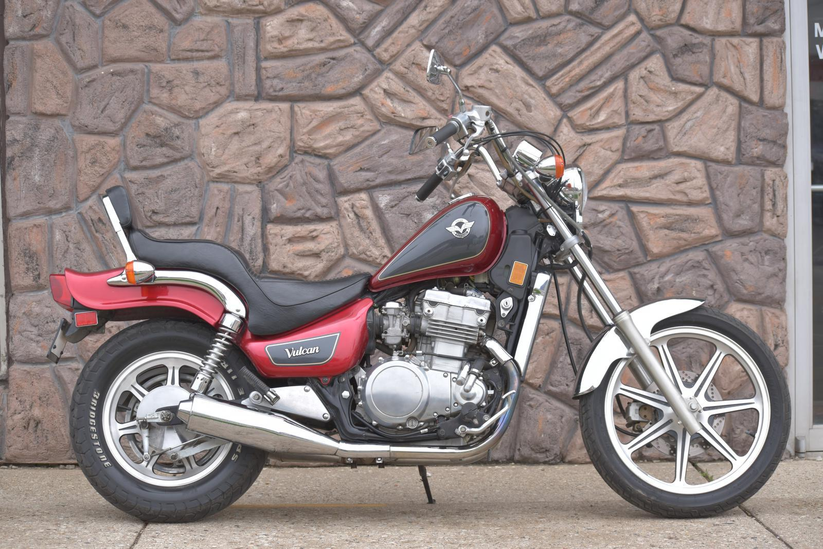 1996 kawasaki vulcan 500 for sale in waukesha, wi   redline all