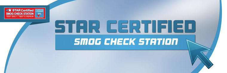 Click here for information on our Star Certified smog check station.