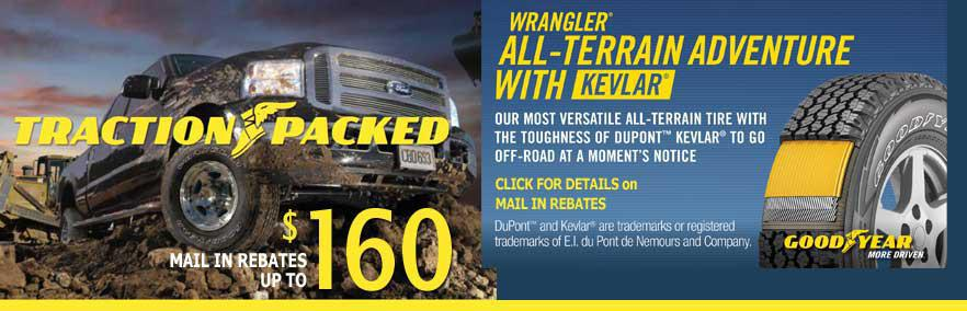 Goodyear Rebates Wrangler