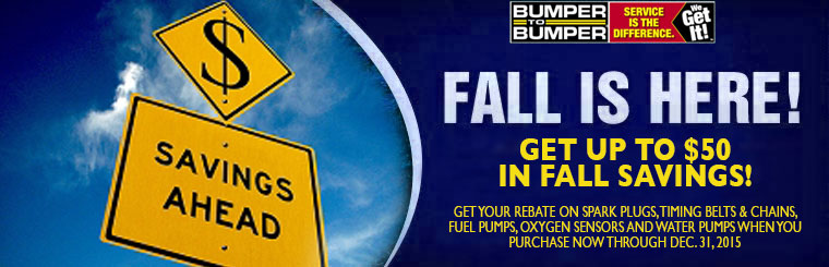 Bumper to Bumper fall service specials