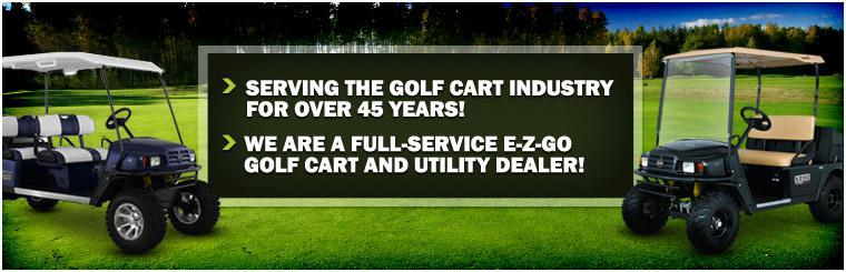McTron Inc. has been serving the golf cart industry for over 45 years! We are a full-service E-Z-GO golf cart and utility dealer!
