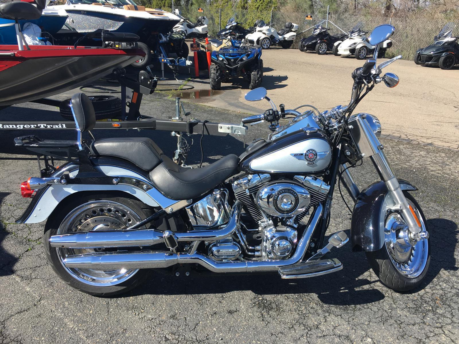 2012 Harley-Davidson® FLSTF Fat Boy®