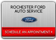 Click here to schedule an appointment at Rochester Ford Auto Service.