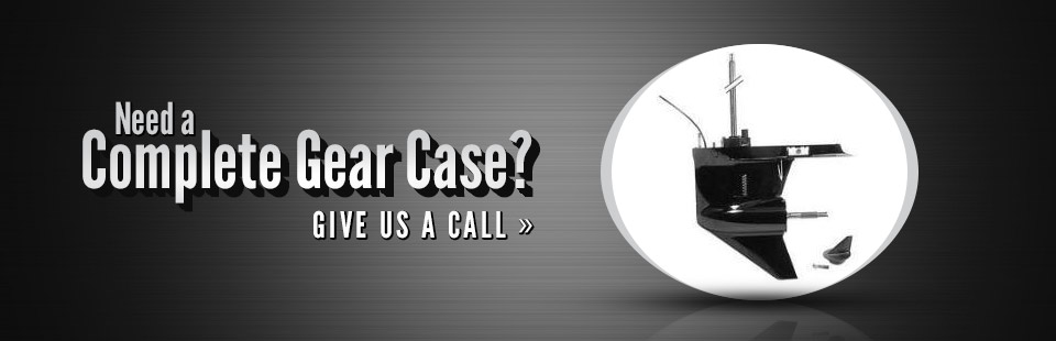 Do you need a complete gear case? Click here to contact us.