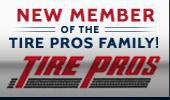 New member of the Tire Pros family!