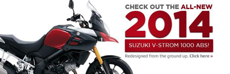 Check out the all-new 2014 Suzuki V-Strom 1000 ABS!