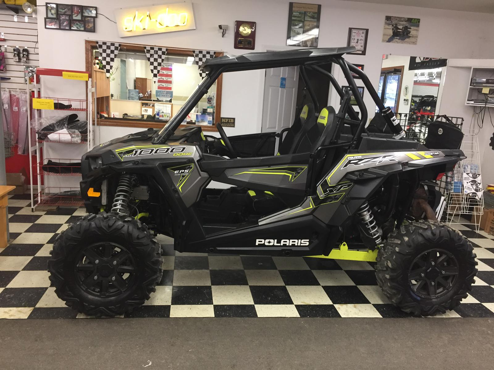 2016 Polaris Industries Rzr Xp 1000 Eps Anium Matte Metallic For In Newport Vt Atvparts 802 487