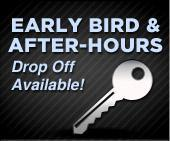 Early bird & after-hours drop off available!
