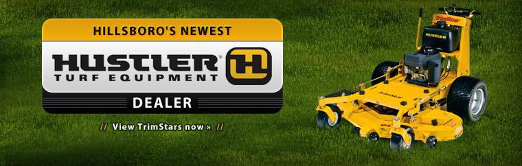 We are Hillsboro's newest Hustler Turf Equipment dealer! Click here to view TrimStars now.
