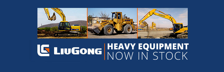 LiuGong Heavy Equipment Now in Stock: Click here for details.