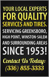 Your local experts for quality services and tires