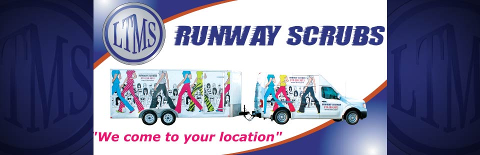 Long Term Medical Supply Runway Scrubs: We come to your location! Click here to view our selection.