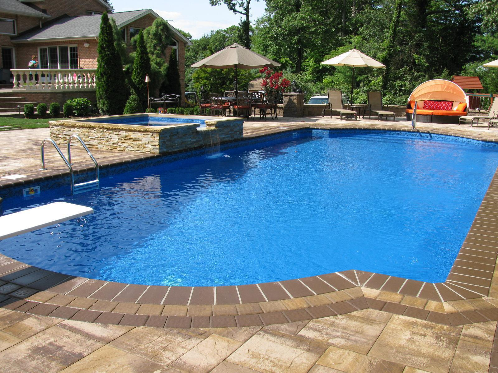 Pools with Spas True Blue Swimming Pools Dix Hills, NY (631) 757-7665