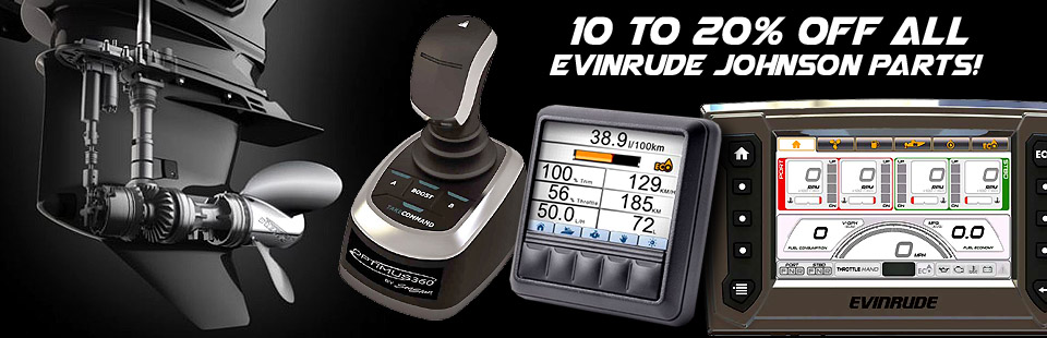 10 to 20% off Evinrude Johnson Parts