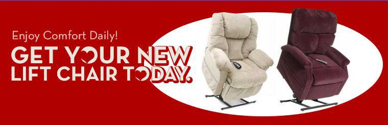 Get your new lift chair today.