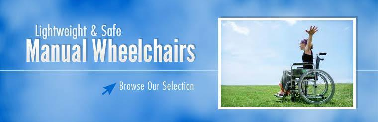 Browse our selection manual wheelchairs!