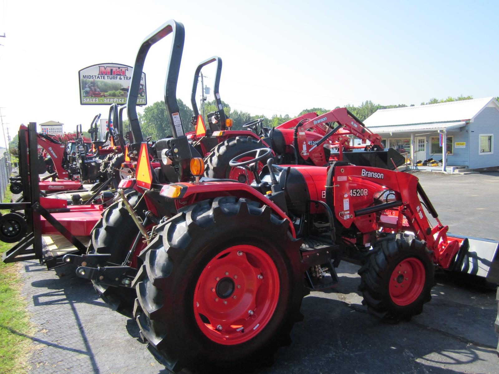2019 Branson 48 HP 4X4 PROGRAM TRACTOR with LOADER
