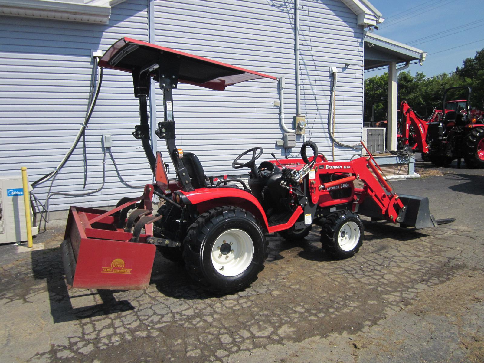 2016 Branson 2400H Tractor with attachments  $195 per month!!