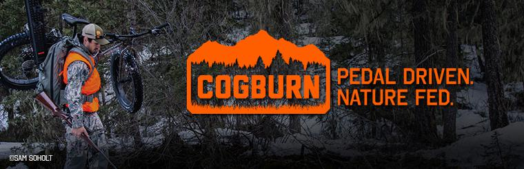 The Cogburn CB4 is the perfect bike for the Alaskan outdoorsman.  Click Here for more.