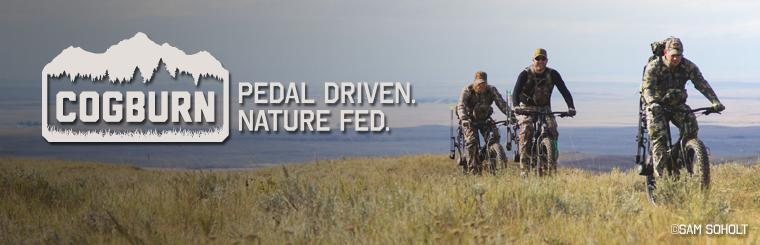 The Cogburn CB4 is the ideal bike for the Alaskan outdoorsman.  Click here for more information.