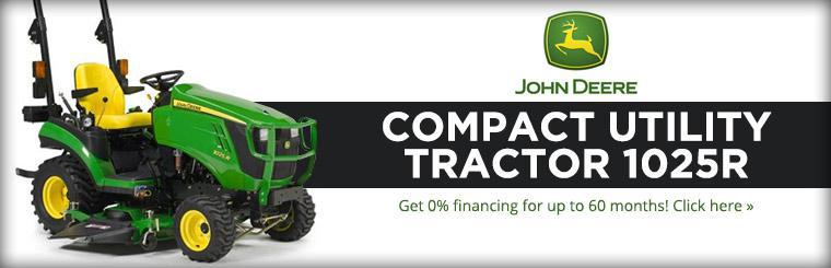 2013 John Deere 1025R: Get 0% financing for up to 60 months!