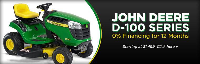 John Deere D-1000 series - 0% financing for 12 months. Starting at $1,499. Click here >>