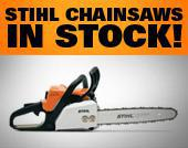 Stihl Chainsaws In Stock!