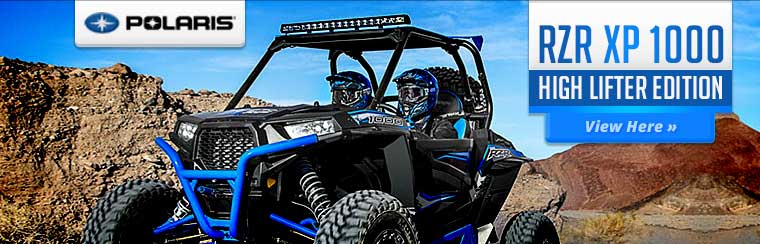 2015 Polaris RZR XP 1000 High Lifter Edition: Click here to view the model.