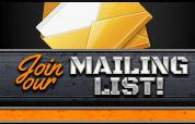 Join our mailing list! Click here »
