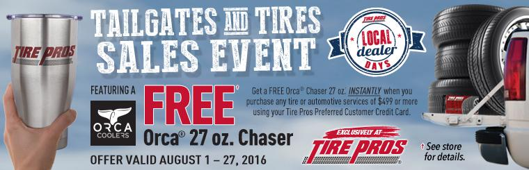 Tailgates and Tires Sales Event