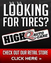 Looking for tires? Check out our retail store here.