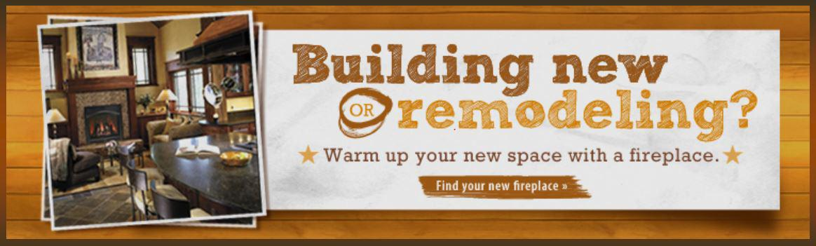 Find your new fireplace, stove, or insert for your construction or remodeling project.