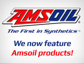 We now feature Amsoil products