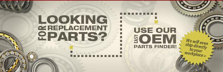 Looking for replacement parts? Use our easy OEM parts finder! Click here to get started.