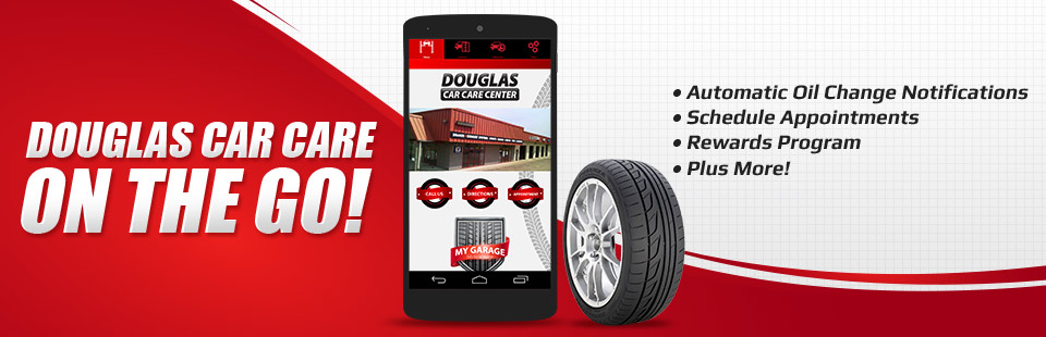 Douglas Car Care on the Go: Contact us for details.