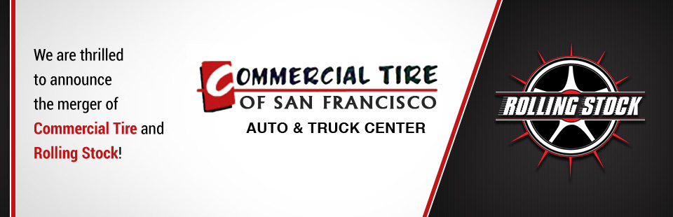 We are thrilled to announce the merger of Commercial Tire and Rolling Stock! Click here to contact us.