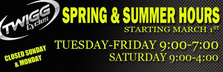 2014 Summer and Spring Hours