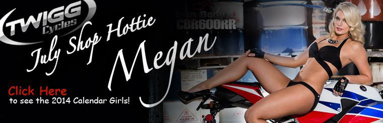 Twigg Cycles July Shop Hottie - Megan