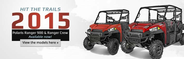 2015 Polaris Ranger 900 & Ranger Crew: Click here to view the models.