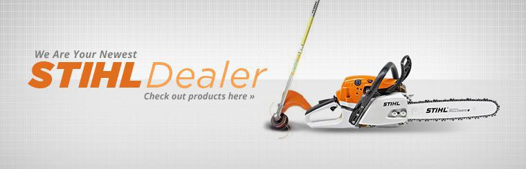 We are your newest STIHL dealer!