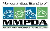 Member in Good Standing of Mid-Canada Marine and Powersports Dealers Association (MMPDA)