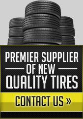 We are the premier supplier of new quality tires! Click here to contact us.