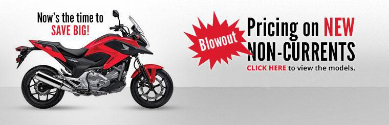 Blowout Pricing on New Non-Currents: Now's the time to save big! Click here to view the models.