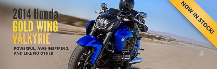 The 2014 Honda Gold Wing Valkyrie is now in stock!