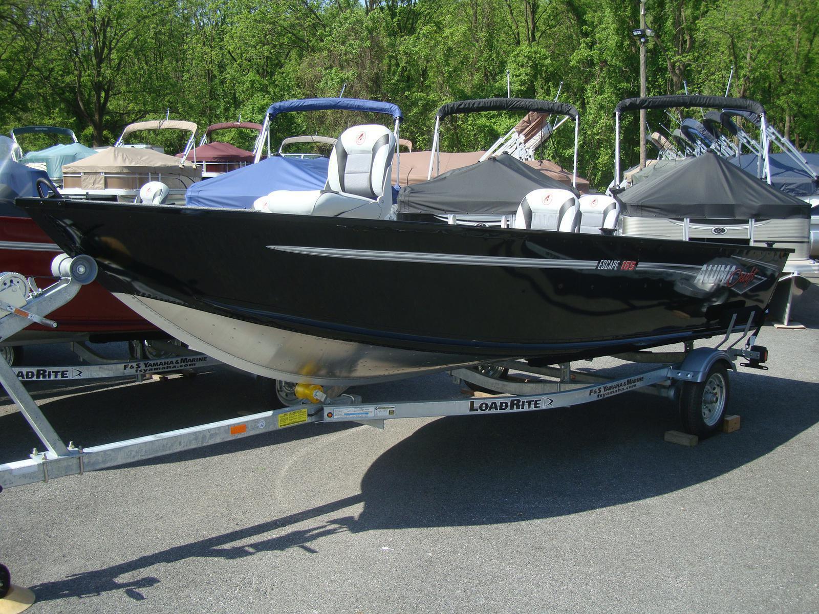 Alumacraft Boats For Sale >> 2018 Alumacraft Escape 165 Tiller For Sale In Spring Grove Pa F
