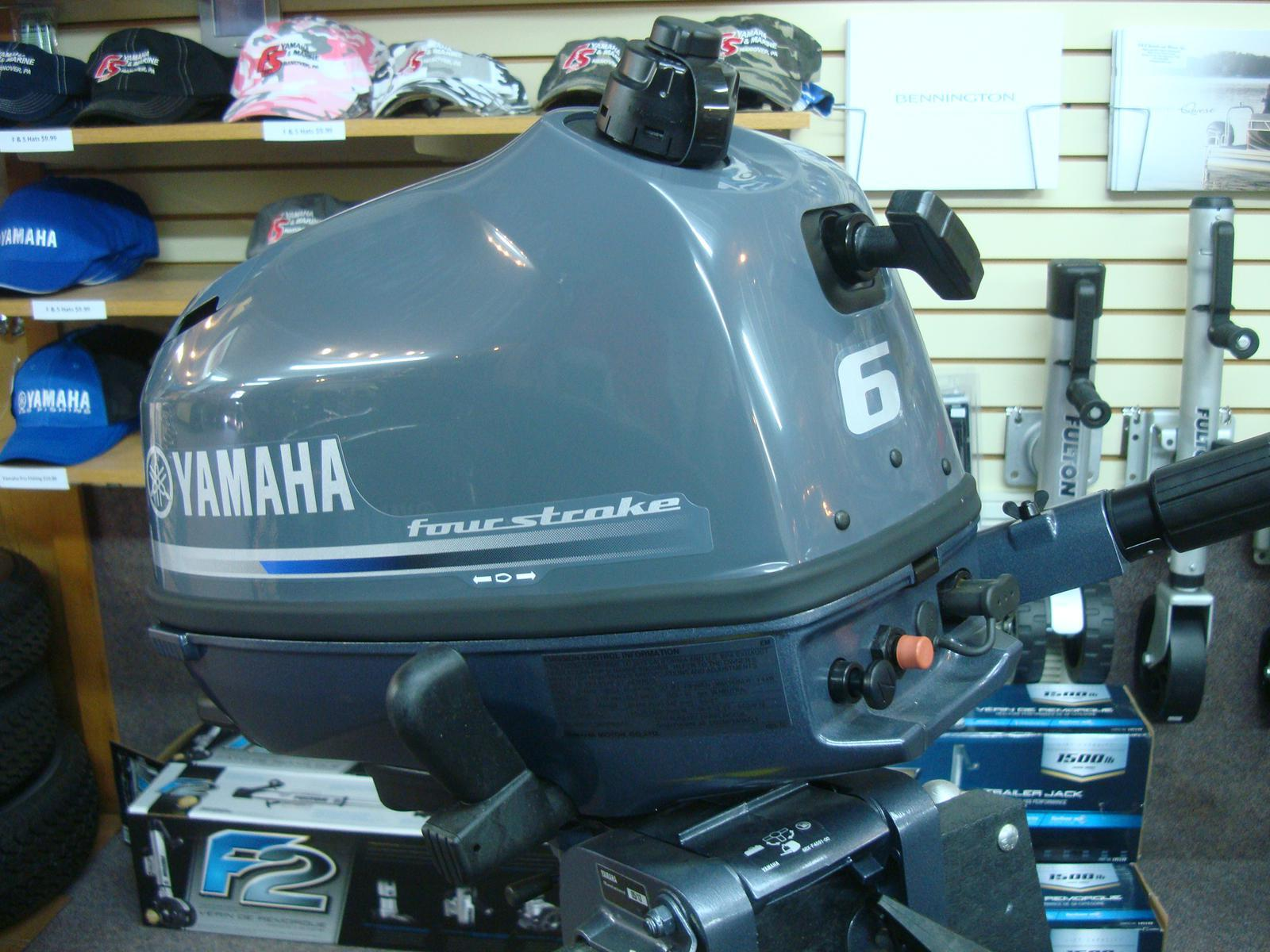2019 Yamaha F6 SMHA